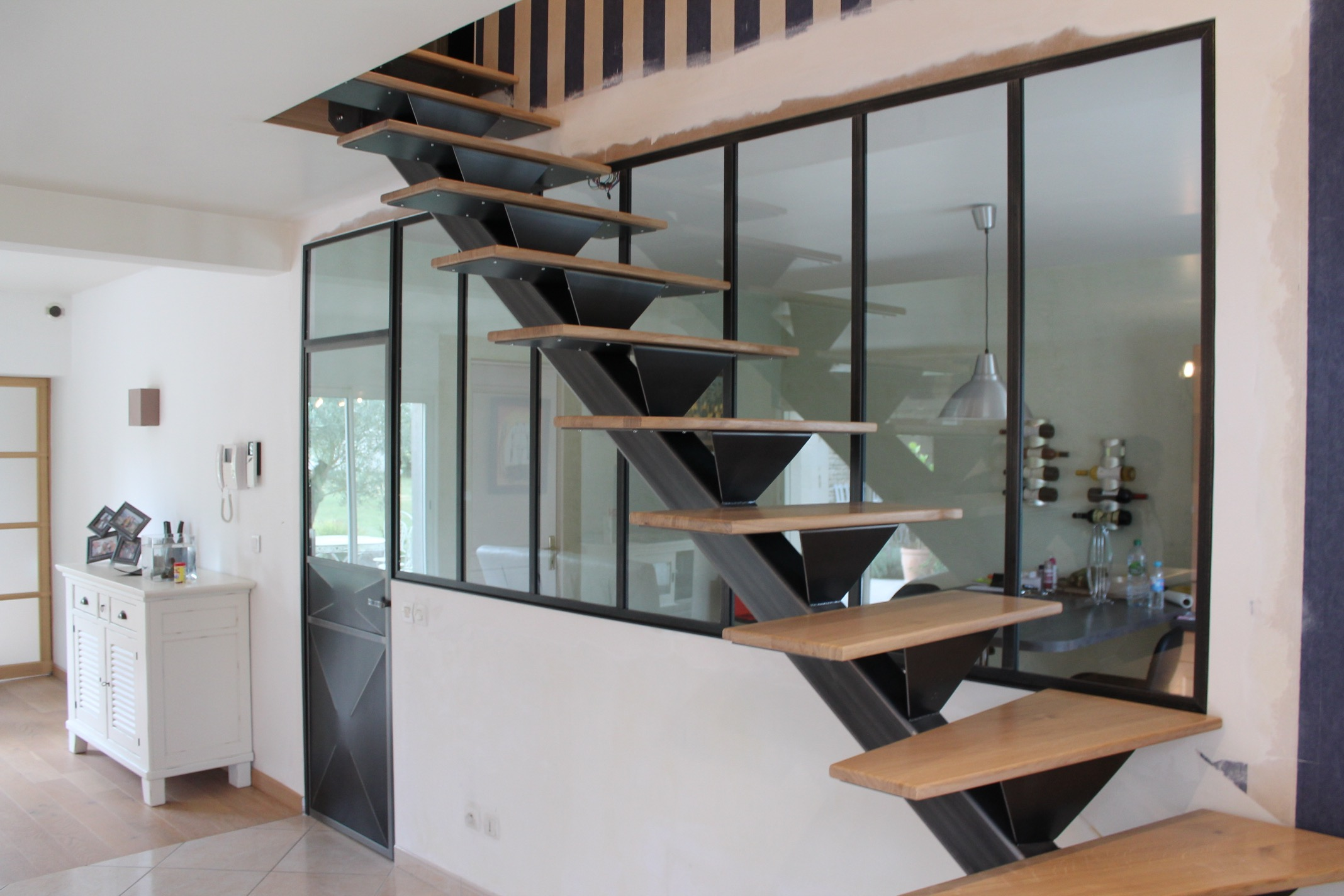 Freesteel cr ation amenagements interieur for Creation interieur